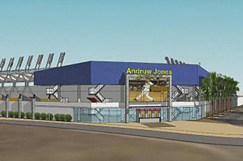 Andruw Jones wil honkbalstadion op Curaçao