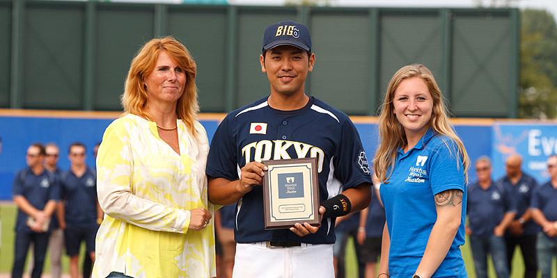 Ryoya Kaneko werd uitgeroepen tot Meest Waardevolle Speler.