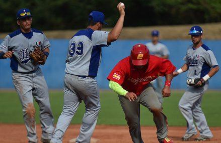 Spanje verrast Italië in Italian Baseball Week