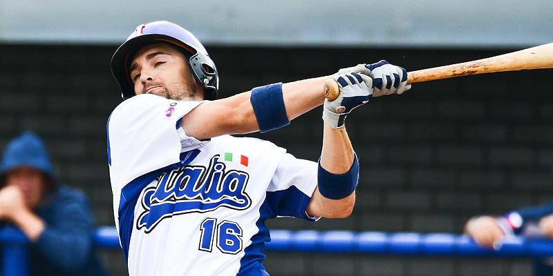 Nicholas Nosti aan slag voor Italië.