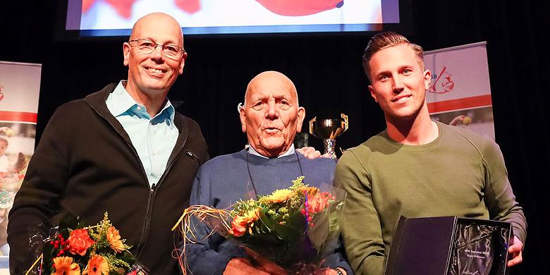 Van links naar rechts: Charles Urbanus, Han Urbanus en Nick Urbanus.