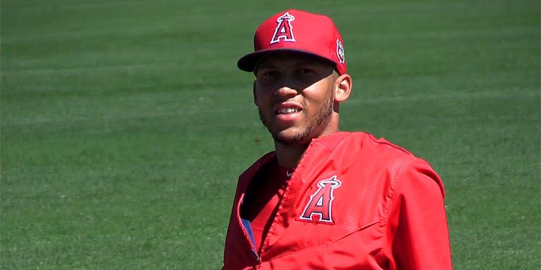 Andrelton Simmons is voor het eerst genomineerd als beste korte stop in de American League.