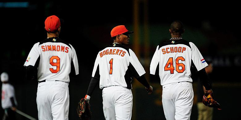 Andrelton Simmons, Xander Bogaerts en Jonathan Schoop keren voor de World Baseball Classic terug in Oranje.