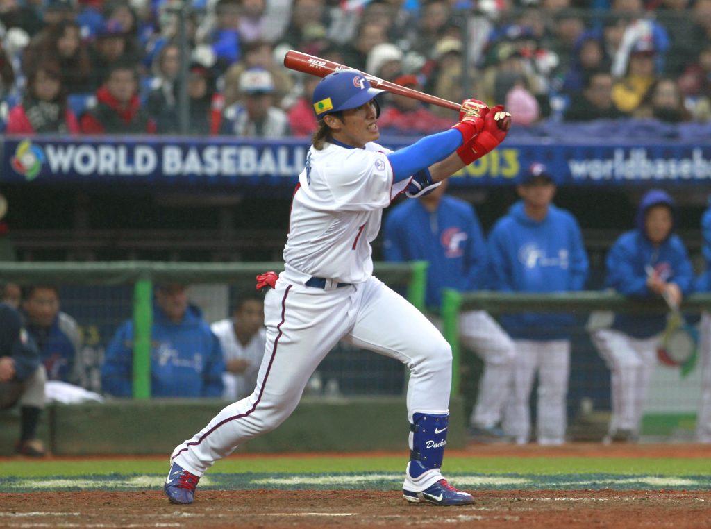 Ook tijdens de WBC 2017 zal Dai-Kang Yang de grote ster van dit gehavende Chinese Taipei zijn (AP Photo/Wally Santana)