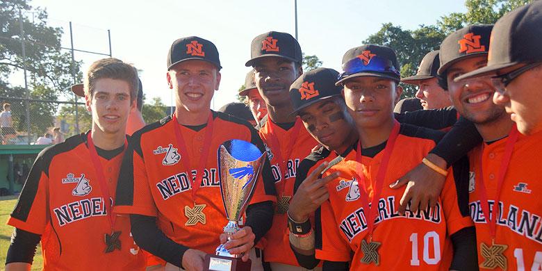 Het Nederlands AAA-team werd vorig jaar in het Spaanse Gijon ongeslagen kampioen.