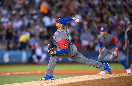 Jorge López is aangewezen als startend pitcher voor Puerto Rico.