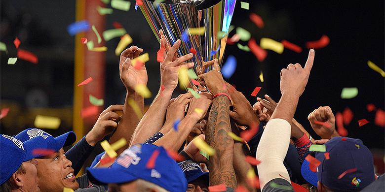 Team USA was in de finale met 0-8 te sterk voor Puerto Rico.