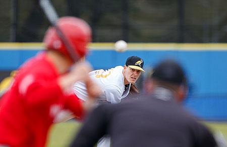 Ook pitcher Kevin Heijstek keerde na lange afwezigheid terug in de hoofdklasse.