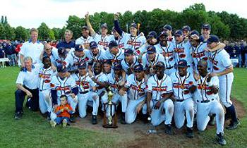 De Nederlandse ploeg die in 2001 de Europese titel veroverde.