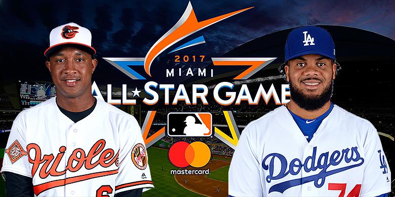Jonathan Schoop en Kenley Jansen zijn geselecteerd voor de All Star Game van Major League Baseball.