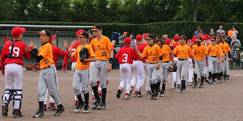 Met de derde overwinning op dit EK heeft Nederland de vijfde plaats behaald.