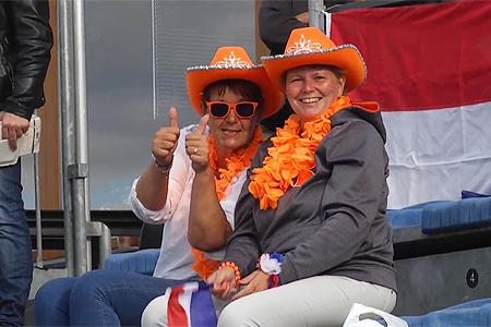 Oranje staat morgen in de finale van het EK.