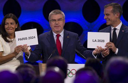 Olympische Spelen definitief naar Parijs en LA