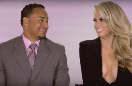 Jair Jurrjens en zijn vrouw Kaylin in reality TV show WAGS