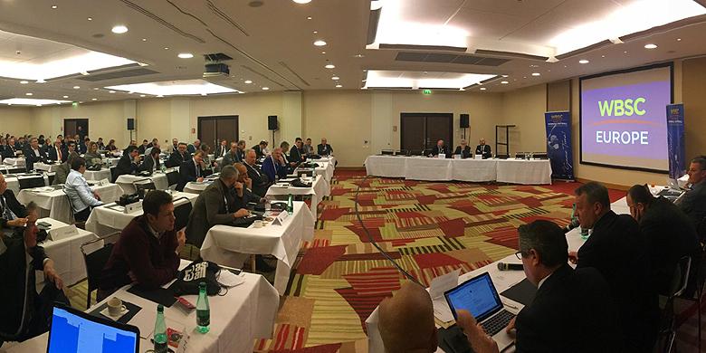 Tijdens het gezamenlijke congres van de CEB en ESF is vandaag de WBSC Europe gepresenteerd.