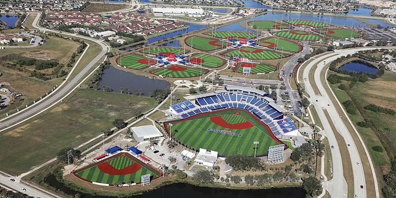 Het Space Coast Complex werd eerder door clubs uit de Major League gebruikt tijdens Spring Training.