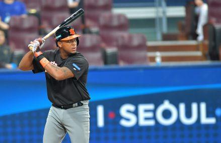 Sharlon Schoop speelt ook in 2018 voor de Orioles