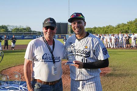 Quitnin de Cuba kreeg de prijs voor de MVP.