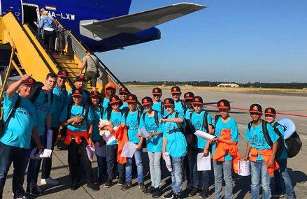 Nederland U12 vertrokken naar Boedapest