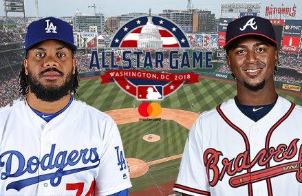 Jansen en Albies in MLB All Star Game