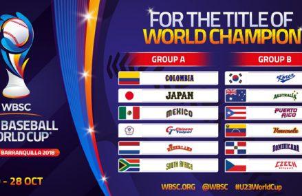 U23 Koninkrijksteam in poule met titelverdediger