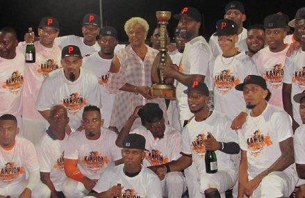 Sta. Maria Pirates kampioen van Curaçao