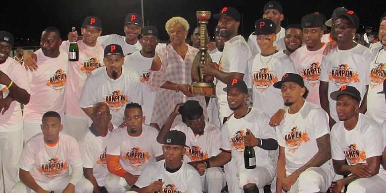Voor de tiende keer is Sta. Maria Pirates kampioen geworden van Curaçao.