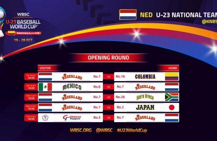 Volg Oranje U23 live tijdens het WK in Colombia