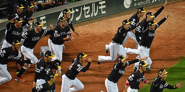 Fukuoka SoftBank Hawks won zijn tweede landstitel op rij.