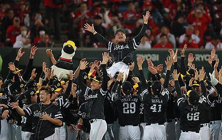 Opnieuw zijn de honkballers van Fukuoka SoftBank Hawks de sterksten in de NPB.