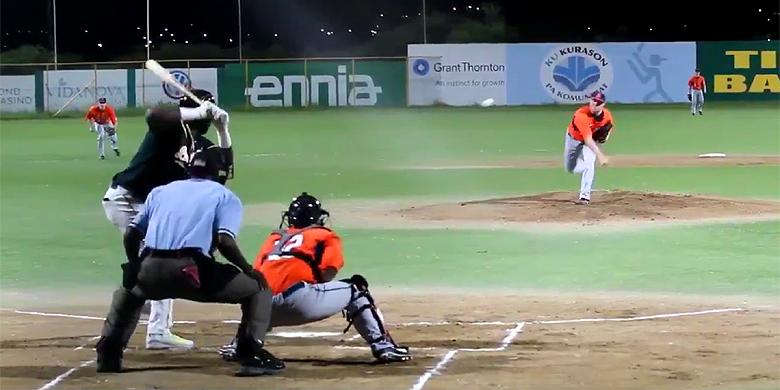 Alle drie de wedstrijden om de Curaçao Cup werden gespeeld in het Tio Daou Ballpark.