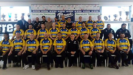 Presentatie van de ploeg van Parma.