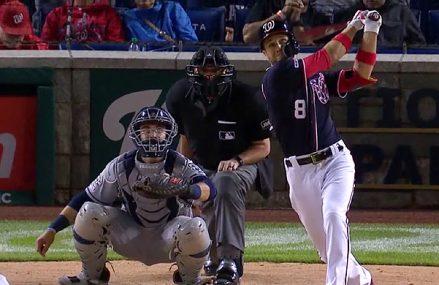 Kieboom debuteert in MLB met homerun