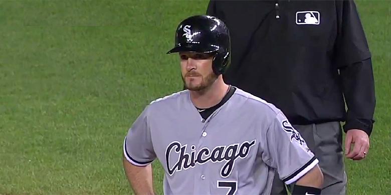 Jeff Keppinger speelde zijn laatste wedstrijden in de Major League in 2013 voor Chicago White Sox.