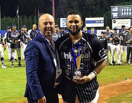 Osman Marval (Bologna) werd uitgeroepen tot MVP.