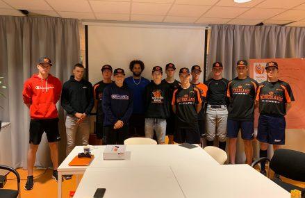 Talentvolle pitchers bijeen voor Pitching Camp