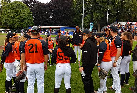 Nederland stond dit toernooi voor het eerst onder leiding van manager Martin de Koning.