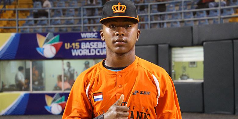 Donovan Antonia was één van de spelers uit het Nederlands Koninkrijksteam tijdens het U15 wereldkampioenschap in 2018.