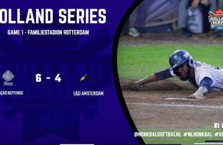 Curaçao Neptunus neemt voorsprong in Holland Series