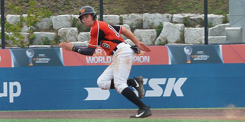 Max Kops zorgde tegen China voor vijf van de tien Nederlandse punten.