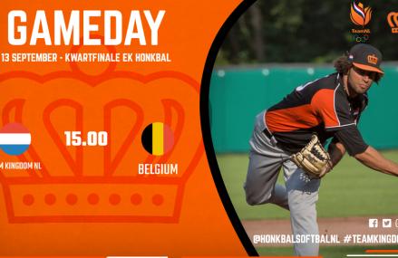 Kwartfinale: Koninkrijksteam – België