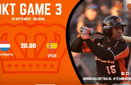 OKT Game 3: Koninkrijksteam – Spanje