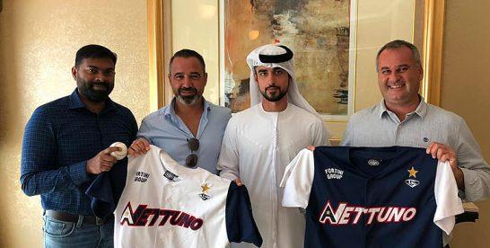 Nettuno vindt nieuwe sponsor in Midden-Oosten