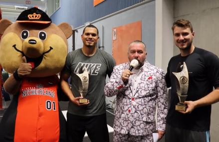 KNBSB Awards: Lampe MVP, Huijer Beste werper