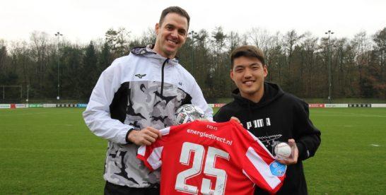 Rick van den Hurk te gast bij voetballers PSV