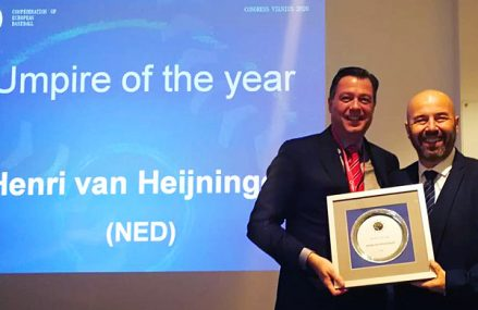 Europese prijs voor Van Heijningen