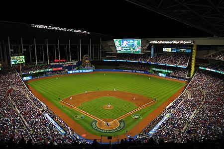 Het Marlins Park was ook in 2017 één van de speellocaties van de World Baseball Classic.