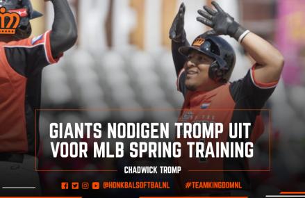 Giants nodigen Tromp uit voor MLB Spring Training
