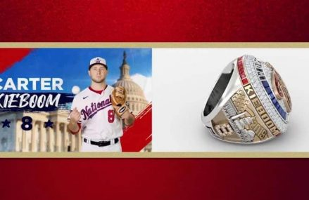 Gebroeders Kieboom ontvangen World Series ring