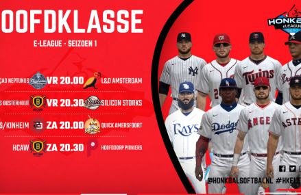 Hoofdklasse e-League Game 9 en 10